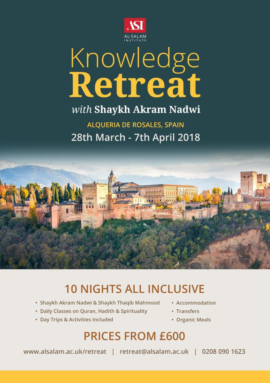 Al-Salam Knowledge Retreat 2018